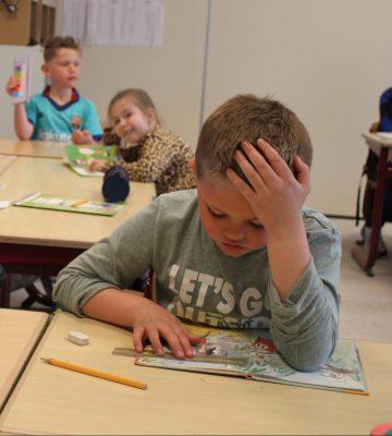Paschalisschool - in de klas